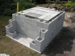 development_of_concrete_pad_for_cooking_chamber